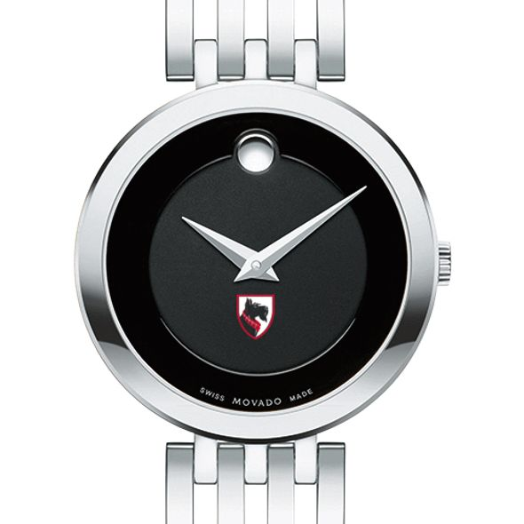 Carnegie Mellon University Women's Movado Esparanza Stainless Steel Museum with Bracelet