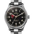 Tepper Shinola Watch, The Vinton 38mm Black Dial - Image 1