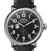 Chicago Shinola Watch, The Runwell 47mm Black Dial