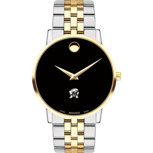 Maryland Men's Movado Two-Tone Museum Classic Bracelet - Image 2