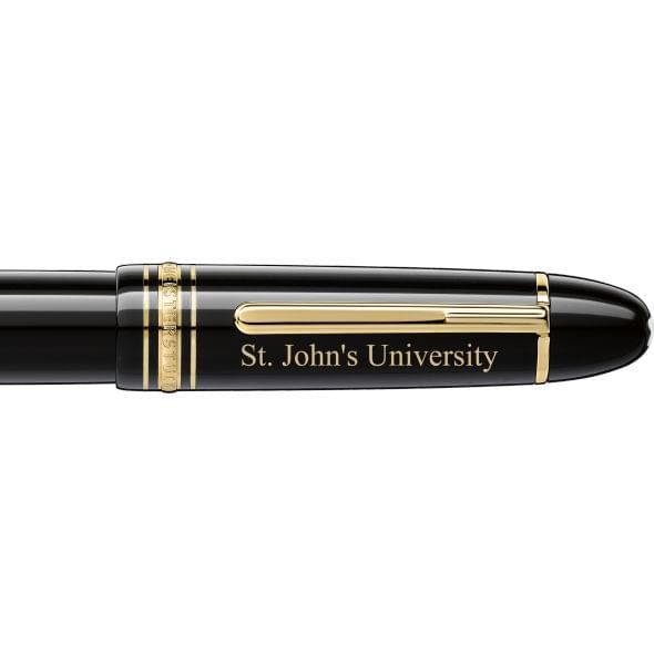 St. John's Montblanc Meisterstück 149 Fountain Pen in Gold - Image 2