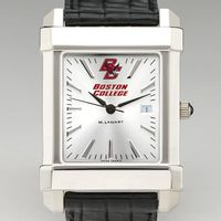 Boston College Men's Collegiate Watch with Leather Strap