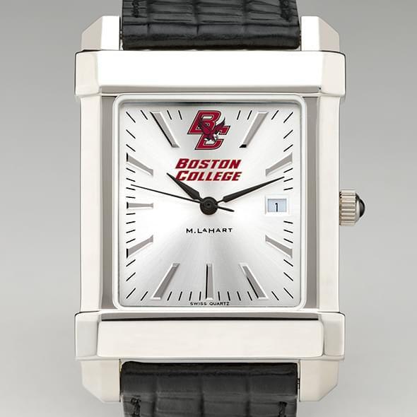 Boston College Men's Collegiate Watch with Leather Strap