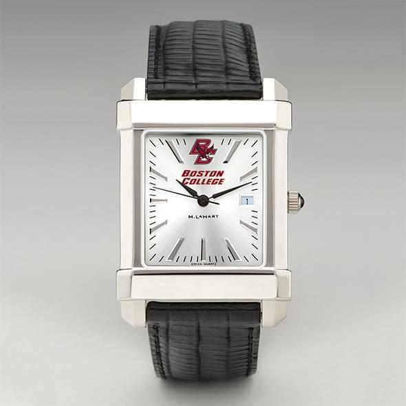 Boston College Men's Collegiate Watch with Leather Strap - Image 2