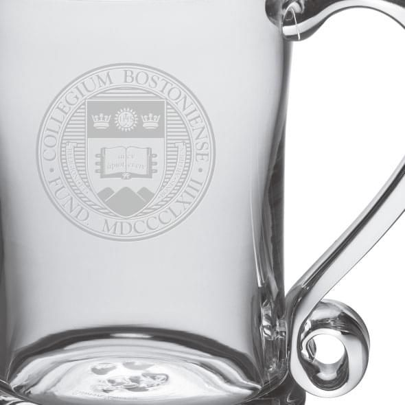 Boston College Glass Tankard by Simon Pearce - Image 2