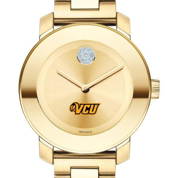 Virginia Commonwealth University Women's Movado Gold Bold