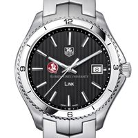 Florida State TAG Heuer Men's Link Watch with Black Dial