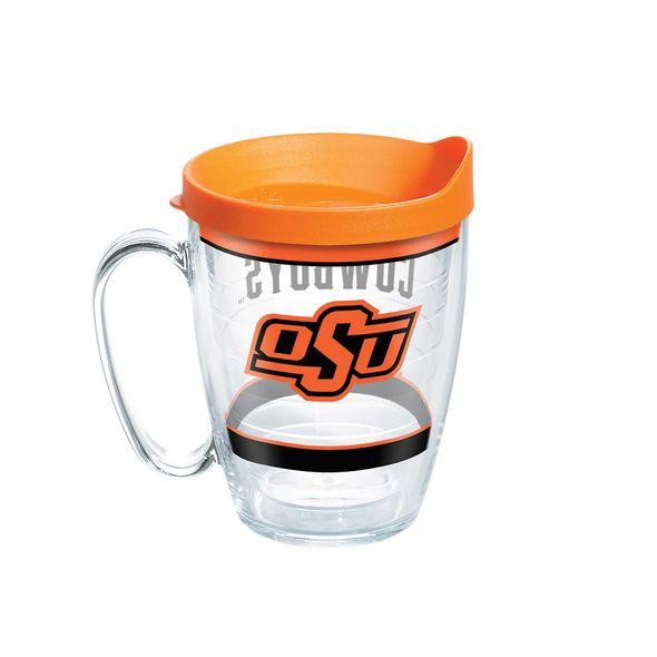 Oklahoma State 16 oz. Tervis Mugs- Set of 4 - Image 1