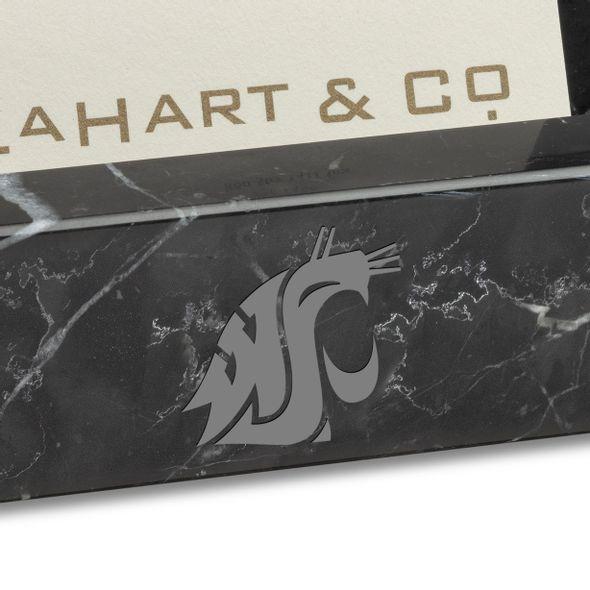 WSU Marble Business Card Holder - Image 2