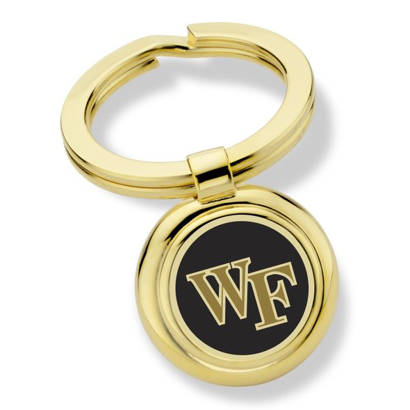 Wake Forest University Enamel Key Ring