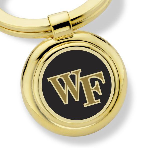 Wake Forest University Enamel Key Ring - Image 2
