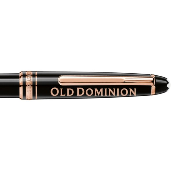 Old Dominion Montblanc Meisterstück Classique Ballpoint Pen in Red Gold - Image 2