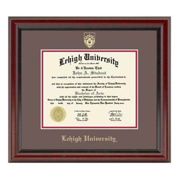 Official Lehigh University Diploma Frame, the Fidelitas - Graduation ...