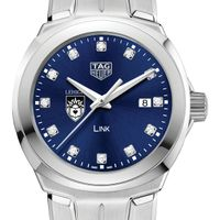 Lehigh University Women's TAG Heuer Link with Blue Diamond Dial
