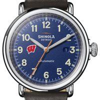 Wisconsin Shinola Watch, The Runwell Automatic 45mm Royal Blue Dial