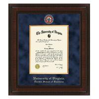 UVA Darden Diploma Frame - Excelsior