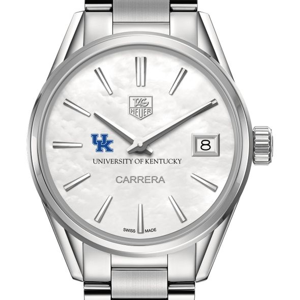 University of Kentucky Women's TAG Heuer Steel Carrera with MOP Dial