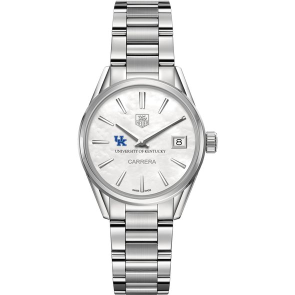University of Kentucky Women's TAG Heuer Steel Carrera with MOP Dial - Image 2