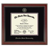 Florida State University Diploma Frame, the Fidelitas
