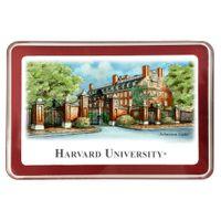 Harvard Eglomise Paperweight