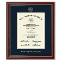 West Virginia University Diploma Frame, the Fidelitas