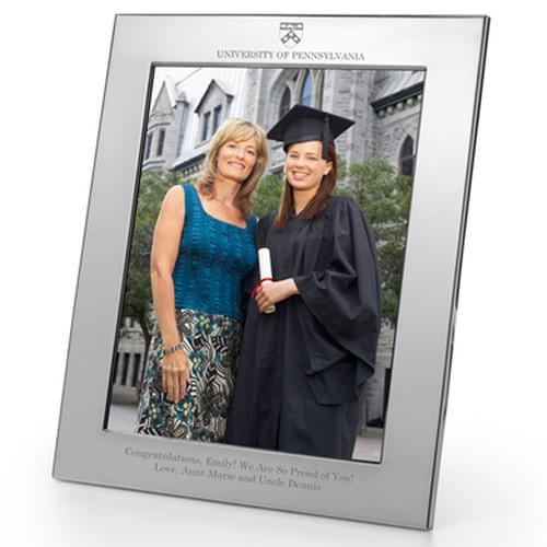 Penn Polished Pewter 8x10 Picture Frame