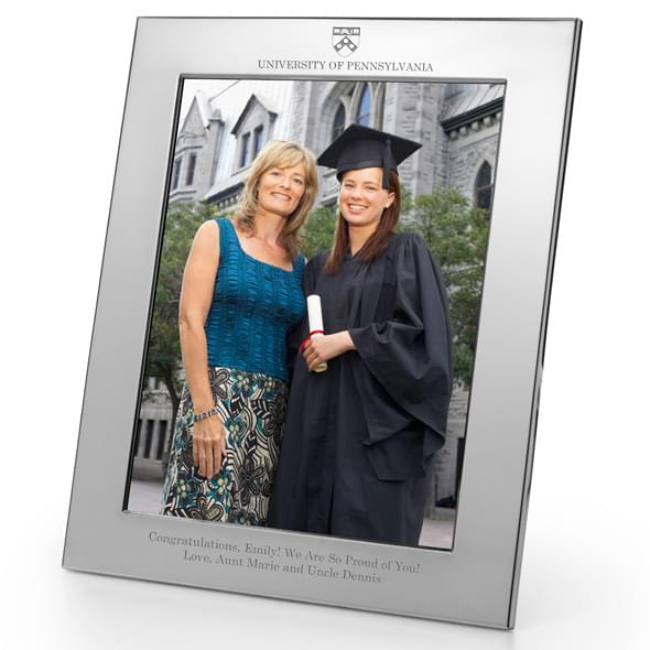 Penn Polished Pewter 8x10 Picture Frame - Image 2