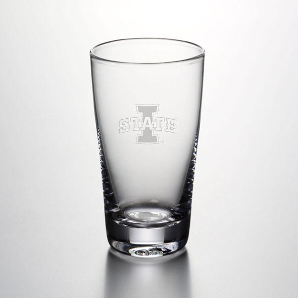 Iowa State University Ascutney Pint Glass by Simon Pearce