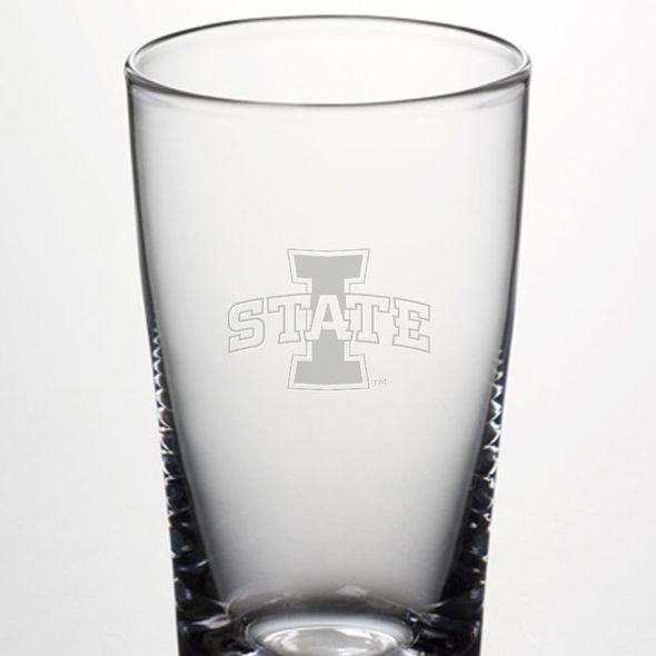 Iowa State University Ascutney Pint Glass by Simon Pearce - Image 2