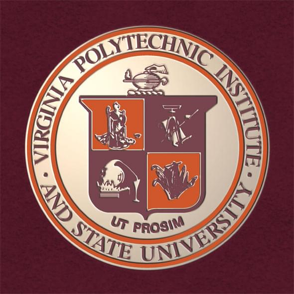 Virginia Tech Bachelor's Excelsior Diploma Frame - Image 3