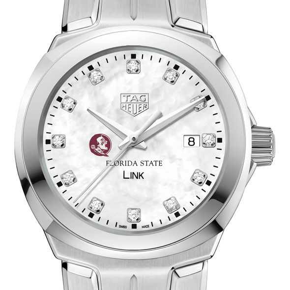 Florida State University TAG Heuer Diamond Dial LINK for Women