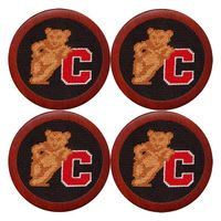 Cornell Needlepoint Coasters
