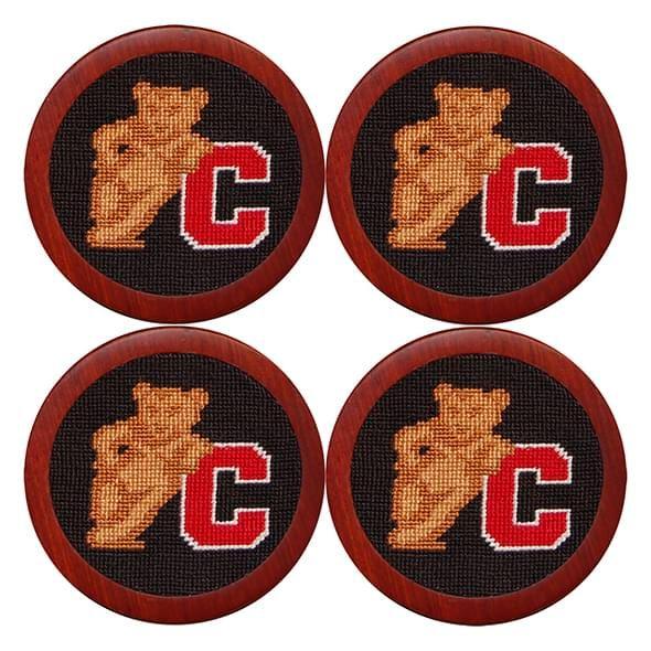 Cornell Needlepoint Coasters