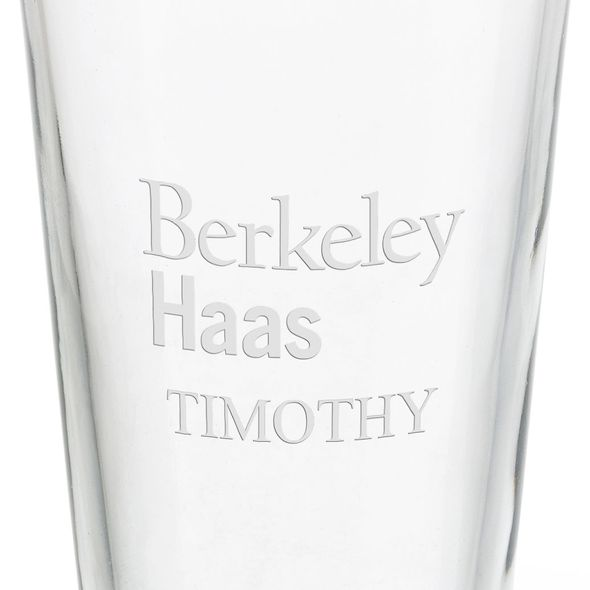 Haas School of Business 16 oz Pint Glass - Image 3
