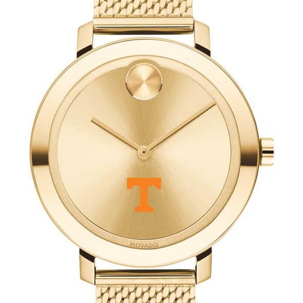Tennessee Women's Movado Bold Gold with Mesh Bracelet - Image 1