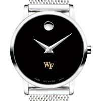 Wake Forest University Women's Movado Museum with Mesh Bracelet