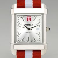 Temple Collegiate Watch with NATO Strap for Men