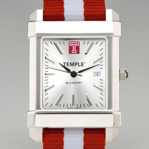 Temple Collegiate Watch with NATO Strap for Men