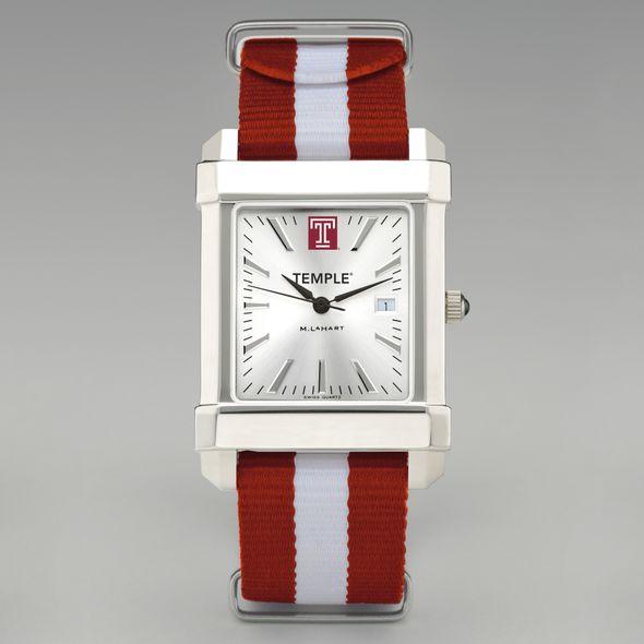 Temple Collegiate Watch with NATO Strap for Men - Image 2