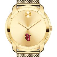 St. John's University Men's Movado Gold Bold 44