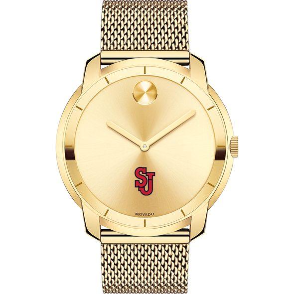 St. John's University Men's Movado Gold Bold 44 - Image 2