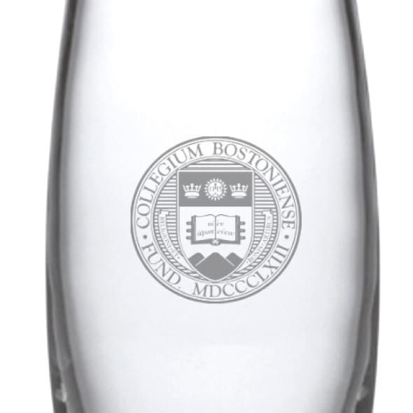 Boston College Glass Addison Vase by Simon Pearce - Image 2