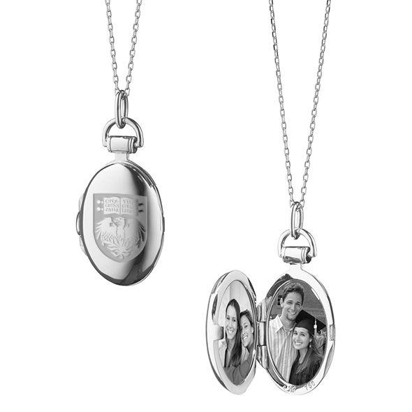 Chicago Monica Rich Kosann Petite Locket in Silver