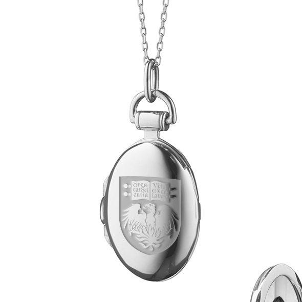 Chicago Monica Rich Kosann Petite Locket in Silver - Image 2