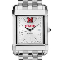 Miami University Men's Collegiate Watch w/ Bracelet