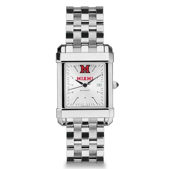 Miami University Men's Collegiate Watch w/ Bracelet - Image 2