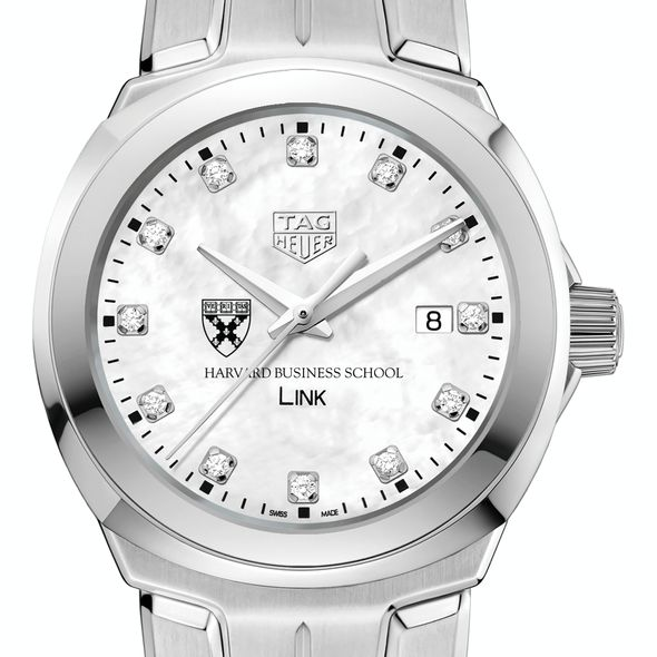 Harvard Business School TAG Heuer Diamond Dial LINK for Women