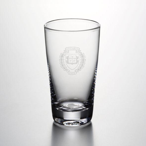 Yale Pint Glass by Simon Pearce