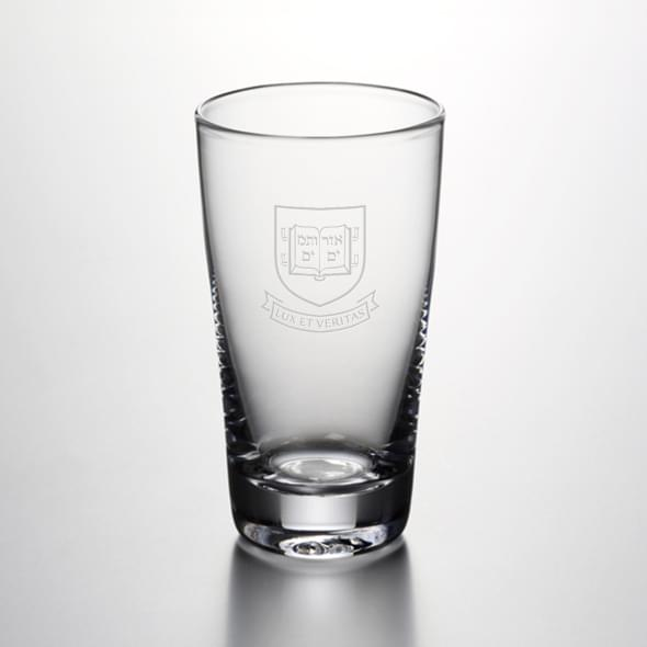 Yale Pint Glass by Simon Pearce