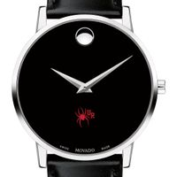University of Richmond Men's Movado Museum with Leather Strap